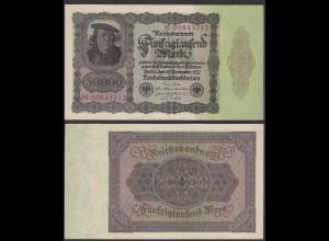 Ro 78 - 50.000 50000 Mark 1922 Pick 80 Serie M aUNC (1-) (29545