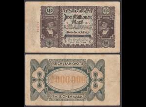 Ro 89a - 2 Millionen Mark 1923 Pick 89 FZ: E BZ: Fa F (4) (29548