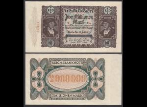 Ro 89a - 2 Millionen Mark 1923 Pick 89 FZ: E BZ: Ua VF+ (3+) (29549