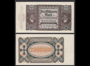Ro 89b 2 Millionen Mark 1923 Pick 89 UNC (1) FZ: E - BZ: v (29554