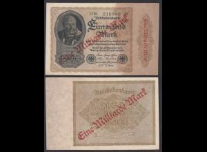 Ro 110b 1 Milliarde Mark 1923 Pick 113 FZ: M BZ: 22 XF (2) Starnote (29631