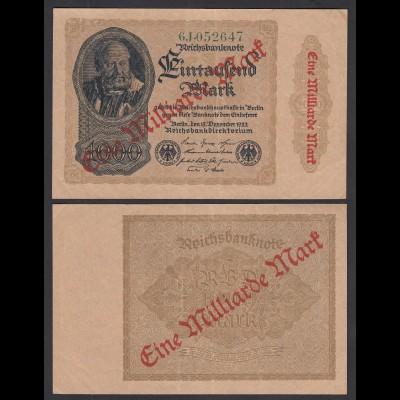 Ro 110f 1 Milliarde Mark 1923 Pick 113 FZ: J BZ: 6 VF (3) (29632