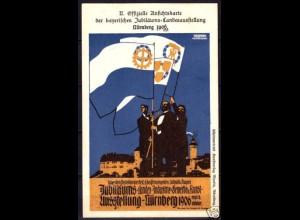 AK Bayern Landesausstellung Nürnberg 1906 Priv.GS (6130
