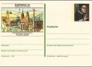 EUROPA CEPT Bundesrepublik GANZSACHE NAPOSTA 1981 (229