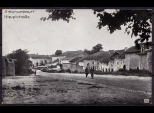 AK Amenoncourt Hauptstrasse Frankreich FRANCE (7595