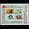 Antigua Pfadfinder SCOUTS Block S/Sheet ** MNH (5282