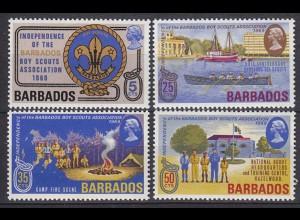 Barbados Pfadfinder SCOUTS Satz SET 1969 ** (5295