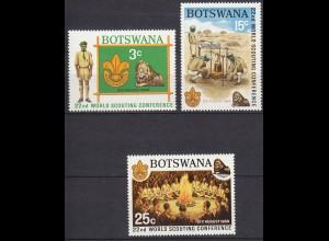 Botswana Pfadfinder SCOUTS Satz SET 1969 ** (5301