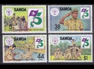 Samoa Pfadfinder SCOUTS Satz Set ** (5312