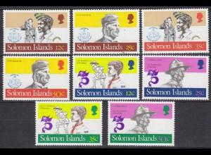 SOLOMON ISLANDS Pfadfinder SCOUTS Satz SET ** (5314
