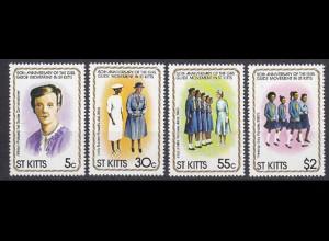 ST Kitts Pfadfinder GIRL SCOUTS Satz SET ** (5320