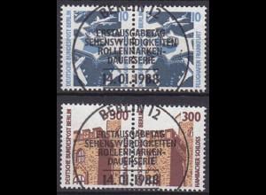 Berlin Sehenswürdigkeiten 798/99 ESST Paar (5413