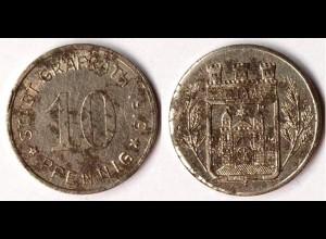 10 Pfg.Notgeld Münze Gräfrath (Rheinprovinz) 1919 (5620