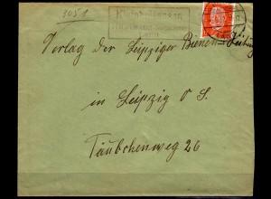 Brief Posthilfstelle/Landpost Kleinholtensen über Haste (6043