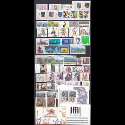 BRD BUNDESREPUBLIK kompl. Jahrgang 1994 postfrisch (10682