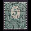 Oberschlesien Oppeln 1 k schöner Vollstempel auf Mi. 3 (10787
