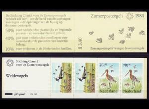 Niederlande Vögel Birds Tiere Wildlife 1984 Markenheftchen ** (10812