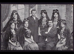 AK Damen-Orchester Oliva Dir.Josef Enzmann (d061