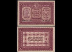 ITALIEN - ITALY 1 Lire Banknote 1918 XF Pick M4 (14509