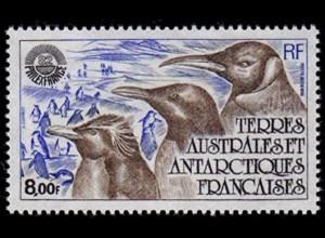 TAAF ANTARCTIC PENGUINS BIRDS 1982 postfrisch MNH (6627