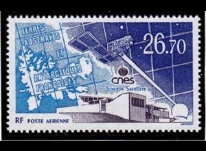 TAAF ANTARCTIC SATELLITE SPACE STATION 1994 ** MNH (6649