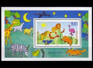 GERMANY S/SHEET 1995 FOR THE CHILDREN Block 34 ** MNH (6765