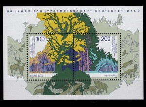 GERMANY S/SHEET Community forest protection Block 38 ** MNH (6769