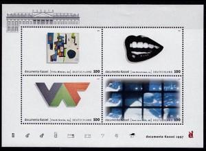 GERMANY S/SHEET 1997 documenta Kassel Block 39 ** MNH (6770