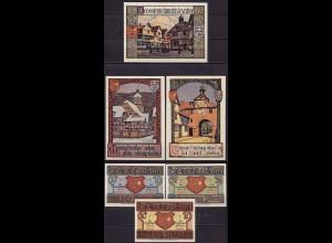 Hessen - Bad Sooden Werra 3 Stück Notgeld (ca435