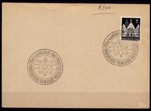 Bayern Landshut SST Indutrie Gewerbe Ausstellung 4-9-1949 (6896