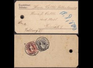 Schweiz - stehende Helvetia 30 + 40 er 1905 Rothenhausen a.Anhänger (13593