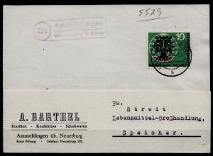 Posthilfstelle/Landpost Ammeldingen über Neuerburg Bitburg (7578