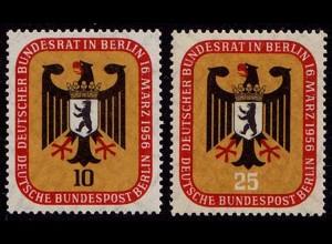 Berlin Mi. 136-137 Bundesrat 1956 postfrisch (7803