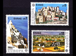 Griechenland Greece 1263/65 Europa CEPT 1977 postfrisch (8086