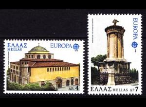 Griechenland Greece 1314/15 Europa CEPT 1978 postfrisch (8094