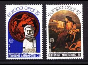 Griechenland Greece 1481-82 1982 Europa CEPT ** (8124