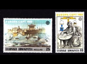 Griechenland Greece 1513/14 1983 Europa CEPT ** (8133