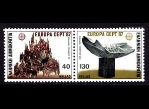 Griechenland Greece MiNr.1651/52 ** 1987 Europa CEPT (8161