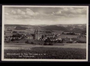 AK St. Peter Schwarzwald Gesamtansicht (b034