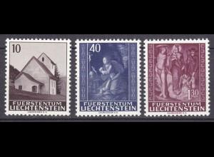 Liechtenstein - Mi. 445-447 postfrisch 1964 Weihnachten (11332