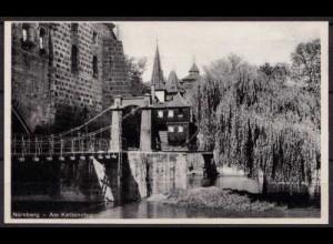 AK Nürnberg Am Kettensteg (b039