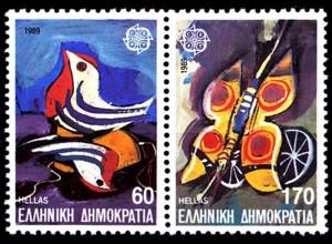 Griechenland Greece MiNr.1721/22 ** 1989 Europa CEPT (8179