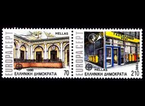 Griechenland Greece MiNr.1742/43 ** 1990 Europa CEPT (8184