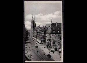 AK Nürnberg Königstrasse Oldtimer (b042
