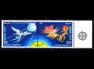 Griechenland Greece MiNr.1777/78 ** 1991 Europa CEPT (8192