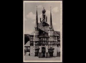 AK Wernigerode Harz Rathaus (b050