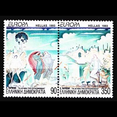 Griechenland Greece MiNr.1829/30 ** 1993 Europa Kunst (8204
