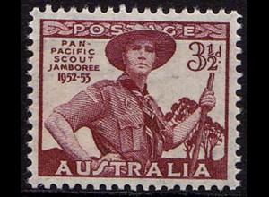 Australien Panpazifisches Pfadfinder-Treffen postfrisch ** (8575
