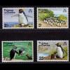 Tristan da Cunha Pinguine Vögel Birds Wildlife 1974 Mi.191-94 postfr.MNH (8994