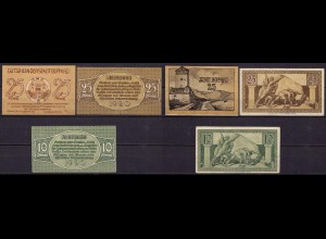 Rheinland - Boppard 3 Stück Notgeld 1920 (cb025